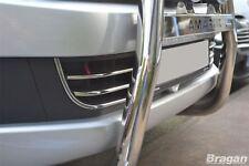 To Fit 2016+ VW Volkswagen Amarok Front Chrome Bumper Trim Set