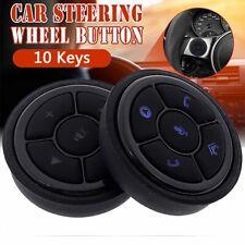 10 Keys Smart Wireless Control Car Steering Wheel Multifunction Button Universal