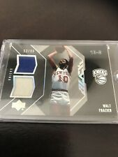 Upper Deck Exquisite Collection Walt Frazier Dual Relic Knicks SP /99