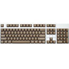 Max Keyboard ANSI 104-key Cherry MX Replacement Keycap Set 6.25x (Brown / Blank)