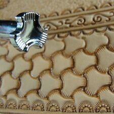 Leather Stamping Tool - X503S Large Tri-Weave Stamp