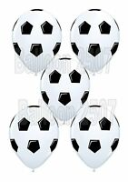"NEW 5 x Football Qualatex 11"" Latex Balloons Helium or Air Birthday Party"