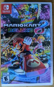 Mario Kart 8 deluxe for Nintendo Switch Brand New