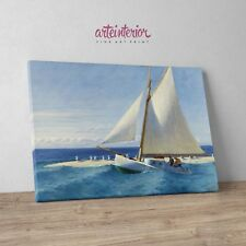 Edward Hopper The Martha McKeen of Wellfleet Stampa su tela Canvas Barca a Vela