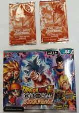 DRAGON BALL SUPER TCG SERIES 4 COLOSSAL WARFARE BOOSTER BOX + PROMOS
