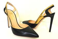 ALEJANDRO INGELMO FREDERICA Black Stiletto Sexy Tango Shoes Italy Gift 10