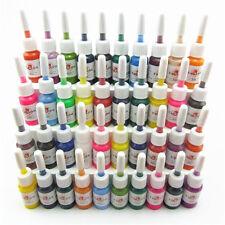 40pcs Tattoo Ink 40 Colors Set 5ml Tattoo Machine Gun Pigment Supply Kit