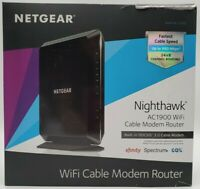 NETGEAR Nighthawk AC1900 Dual-Band WiFi Cable Modem Router C7000