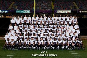 2012 BALTIMORE RAVENS TEAM 8X10 PHOTO PICTURE NFL