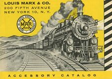 vintage original 1950 LOUIS MARX &CO. NEW YORK Train ACCESSORY CATALOG 4311 Loco