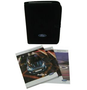 FORD FIESTA MK7 OWNERS HANDBOOK MANUALS WITH BLANK SERVICE BOOK AND FOLDER NEW