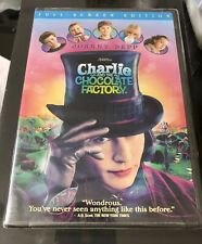 Charlie and the Chocolate Factory DVD New Sealed