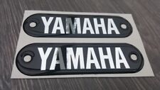 YAMAHA FS1E DX FS1 YL1 DOMED TANK BADGES /  DECALS / STICKERS