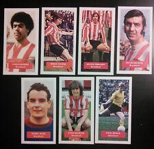 COMPLETE SET OF 7 BRENTFORD FC Score UK football trade cards