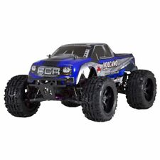 Redcat Racing Volcano EPX 1:10 Scale Electric Brushed 19T RC Monster Truck, Blue