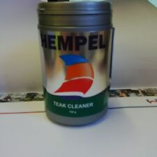 Hempel Teak Cleaner (Cleaning Powder) 750g Narrowboats Canals