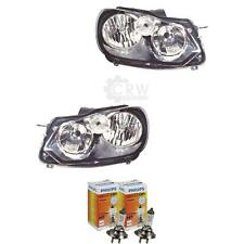 Halogen Scheinwerfer Set VW GOLF VI 5K1 Bj. 10.08- H7 inkl. PHILIPS 1ZM