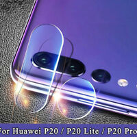 2.5D Back Camera Lens 9H Tempered Glass Protectors Films For Huawei P20 Lite  ly