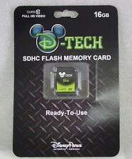 Disney SDHC FLASH MEMORY CARD 16G Ready to Use  D-Tech SEALED