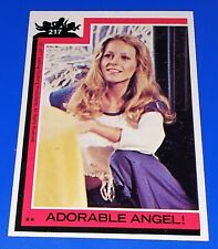 1977 Topps Charlie's Angels Series 4 Card #217 Cheryl Ladd Tv Show