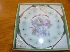 Precious Moments Vintage The Future is in Our Hands Collectable Plate