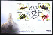 URUGUAY 2013 FAUNA INSECTS BEES FDC YV 2635-8