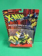 MARVEL COMICS X-MEN WOLVERINE BUMP & GO CYCLE WORKING HEAD LIGHT & SOUND