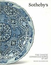 SOTHEBY'S Chinese Ceramics Bronzes Jades Mirrors Furniture Textiles Catalog 2014