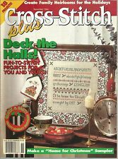 Cross Stitch Plus November 1994 Christmas/Harvest/Angels/Trees/Thank yous