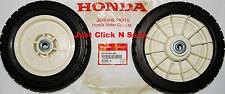 OEM Honda HR194 HR195 HR214 HR215 HRA214 HRA215 HRM21 Lawn Mower REAR WHEELS SET
