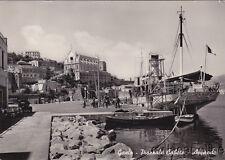 * GAETA - Piazzale Caboto, Approdo - Nave Ustica Trapani 1955