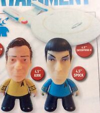 NYCC Kirk Spock Enterprise Titans Vinyl Star Trek 50th Con Exclusive lot Rare