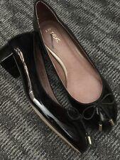 Black Patent Pump Style Next Shoes Size 3 New