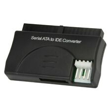 SATA Serial ATA to IDE Adapter Converter Connector HDD Hard Drive Black