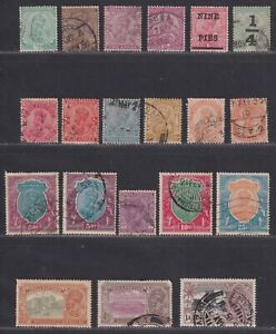 India 1912-1935 Selection of George V Stamps 20 Stamps SCV $70.45