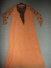 NEUVE avec étiquette Taille unique magnifique robe orientale djellaba dubai
