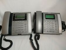 RCA Executive Series Intercom Multi Line Phone Lot Of 2 (25404RE3-A, 25414RE3-A)