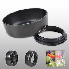 2x Dedicated Gegenlichtblende für Canon ES-62 EF 50mm f / 1.8 II-Kamera-Objektiv