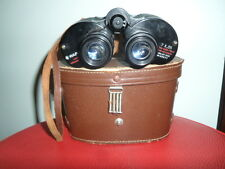 Vintage Wards Binoculars Coated Precision Optics 7x35 Extra Wide Field with Case