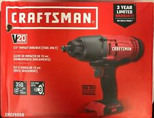 "NEW! CRAFTSMAN CMCF900B - V20 - 1/2"" IMPACT WRENCH TOOL ONLY"