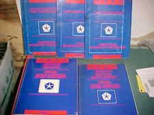 1993 JEEP GRAND CHEROKEE GRAND WAGONEER SERVICE MANUAL SET very good 5 volume