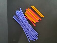 32 Knex Flexi Bendable Rod Assortment K'nex Standard