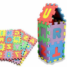 36x Educational Baby Kids Toy A-Z Alphabet Letters Numer Foam Puzzle Mat Jigsaw