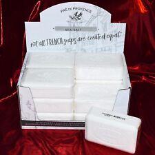 Pre de Provence SEA SALT Case 12 x 250 gram French Soap Bath Shower Bars Natural