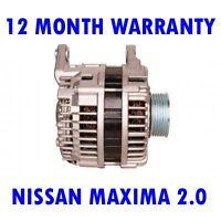 Nissan Maxima 2.0 3.0 1995 1996 1997 1998 1999 2000 Rmfd Alternador
