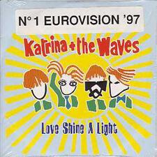 CD SINGLE EUROVISION 1997 UK : Katrina & the WavesLove   shine a light 2 TRACKS