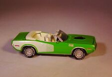 JL 1971 PLYMOUTH BARRACUDA 383 MUSCLE CAR RUBBER TIRE LIMITED EDITION DIE CAST