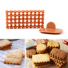 Mini Plastic Alphabet Letter Number Biscuit Cookie Cutter Press Stamp Cake Tools