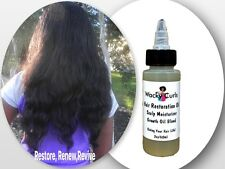 "HAIR GROWTH- HAIR RESTORATION OIL""WACK-OIL"" (ORGANIC AFRICAN OILS) (2) FOR $22"