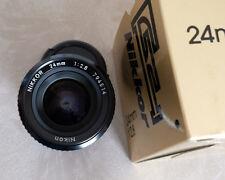 Nikon 24 mm F2.8  monture AIS  Excellent Etat +++